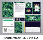 corporate identity templates in ... | Shutterstock .eps vector #377146165