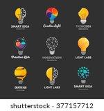 light bulb   idea  creative ... | Shutterstock .eps vector #377157712