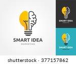 light bulb   idea  creative ... | Shutterstock .eps vector #377157862