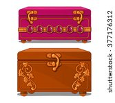 Two Vintage Jewelry Boxes....
