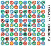 casino icons set. | Shutterstock .eps vector #377190898