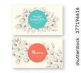set of vector labels  greeting... | Shutterstock .eps vector #377196616