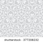 abstract grey seamless hand... | Shutterstock . vector #377208232