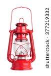 lantern kerosene oil lamp ... | Shutterstock . vector #377219332