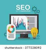 seo icons design    Shutterstock .eps vector #377228092