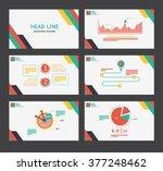 presentation template flat... | Shutterstock .eps vector #377248462
