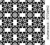 baroque floral pattern | Shutterstock .eps vector #37726942