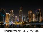Jumeirah Lakes Towers Night...