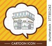 triumphal arch theme elements... | Shutterstock .eps vector #377301262