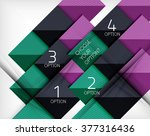 vector square abstract...   Shutterstock .eps vector #377316436