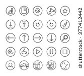 web app icons. user interface...