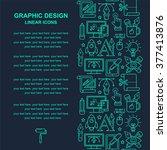 graphic design seamless pattern ...   Shutterstock .eps vector #377413876