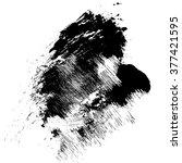 vector black grunge brush... | Shutterstock .eps vector #377421595