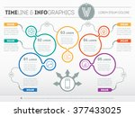 part of the report with logo... | Shutterstock .eps vector #377433025
