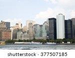 new york   august 21  lower... | Shutterstock . vector #377507185