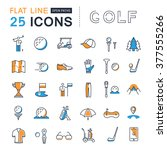 set vector line icons with open ... | Shutterstock .eps vector #377555266