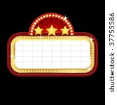 cinema sign | Shutterstock .eps vector #37755586
