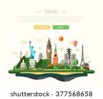 vector illustration of flat...   Shutterstock .eps vector #377568658