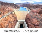 Hoover Dam In United States....