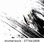 abstract modern painting... | Shutterstock .eps vector #377661808
