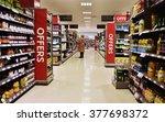 bath  uk   feb 10  2015  aisle... | Shutterstock . vector #377698372