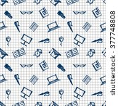 seamless vector pattern ... | Shutterstock .eps vector #377748808