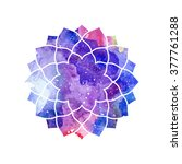 chakra sahasrara icon ... | Shutterstock .eps vector #377761288