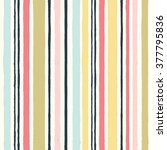 simple pattern with stripes... | Shutterstock .eps vector #377795836