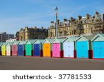 Beach Huts In Hove Brighton