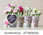 happy mothers day | Shutterstock . vector #377846032