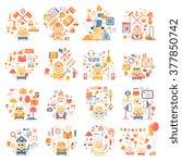 vector illustration of color...   Shutterstock .eps vector #377850742