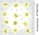 horoscope . zodiac . | Shutterstock .eps vector #377867305