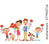 mother's day and family | Shutterstock .eps vector #377903716