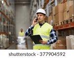 wholesale  logistic  business ...   Shutterstock . vector #377904592