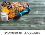 the concept of a healthy... | Shutterstock . vector #377922388