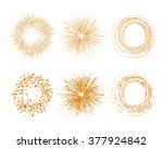vector abstract glitter... | Shutterstock .eps vector #377924842