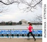Washington Dc   A Runner In...