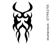 tattoo tribal vector design... | Shutterstock .eps vector #377951755