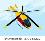 Vector Illustration Of A Yello...