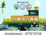cartoon illustration of... | Shutterstock . vector #377975728