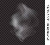 smoke vector texture for black... | Shutterstock .eps vector #377978758