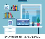 Office Flat Design  Vector...
