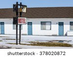 an old abandoned north american ... | Shutterstock . vector #378020872