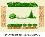 set for landscaping. different...   Shutterstock .eps vector #378028972