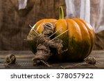 Halloween Concept Of Rag Voodo...