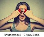 Beautiful Young Woman Eyes...