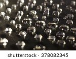 drops of water on a black... | Shutterstock . vector #378082345
