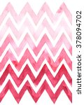 Chevron With Gradation Of Pink...