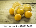 Fresh Organic Physalis Fruit ...