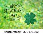 Saint Patricks Day Shiny Green...
